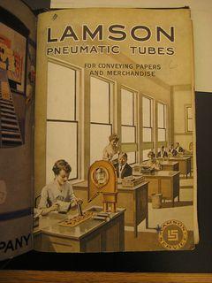 Lamson Pneumatic Tubes